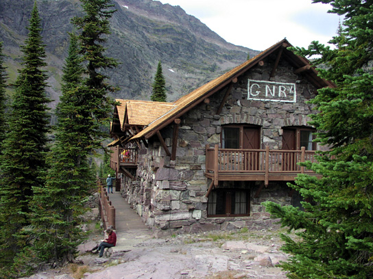 Sperry Chalet Hotel Building