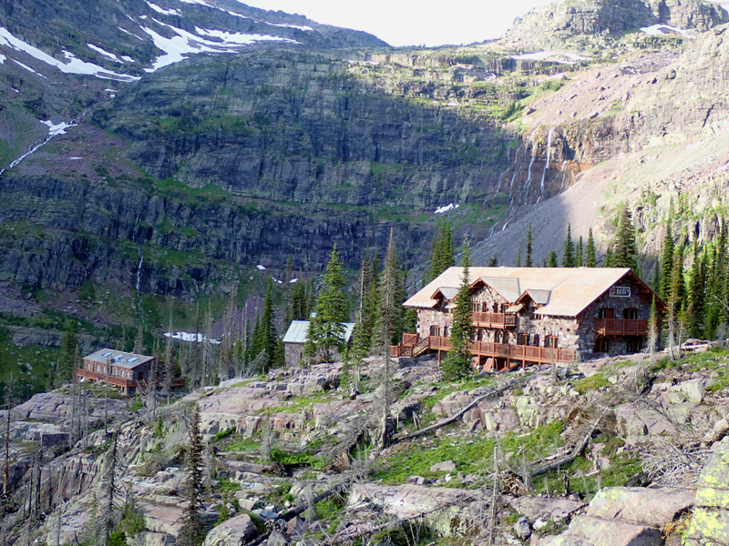 Sperry Chalet, July 2020